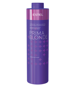 Серебристый шампунь для холодных оттенков блонд PRIMA BLONDE - фото 4586