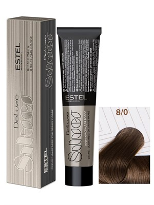 Краска-уход 8/0 DE LUXE SILVER для окрашивания волос светло-русый - фото 5182