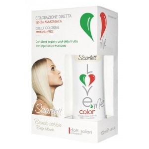 Краска-маска   для волос  3 в 1 Scarlett - Beige blonde  питательная  100 мл - фото 5236