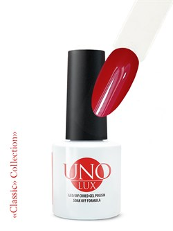 Uno Lux, Гель-лак №016 Verbena Red — «Красная Вербена» коллекции Classic - фото 5478