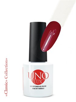 Uno Lux, Гель-лак №017 Madder Red — «Мареновый красный» коллекции Classic - фото 5482