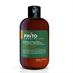 Балансирующий шампунь двойного действия Phitocomplex, 250мл - фото 5776