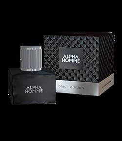Парфюмерная вода ESTEL ALPHA HOMME BLACK EDITION pour homme - фото 5908