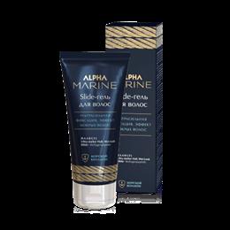 Slide-гель для волос ультра сильная фиксация ALPHA MARINE