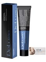 Краска-уход 10/116 DE LUXE для окрашивания волос светлый блондин усиленный пепельно-фиолетовый