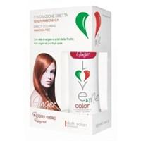 Краска-маска   для волос  3 в 1 Ginger - Ruby red  питательная  100 мл