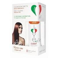 Краска-маска   для волос  3 в 1 Lola - Coppe red  питательная  100 мл