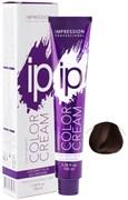 "Крем - краска тон ""Шатен интенсивно - коричневый 4.77"" IP Color"