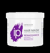 Восстанавливающая Биомаска для поврежденных волос «Renaissance» без дозатора IP Color