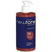 Тонирующая маска для волос NEWTONE ESTEL 7/34 Русый золотисто-медный, 435 мл